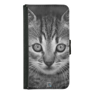 Cute black and white cat, Samsung Galaxy S5 Case