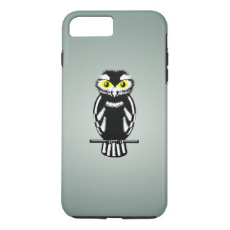 Cute Black and White Owl iPhone 7 Plus Case