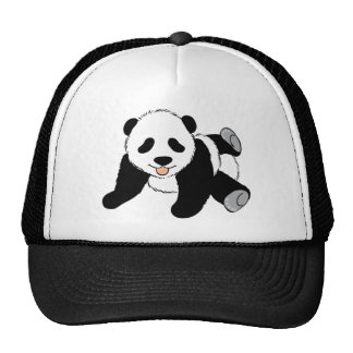 Cute Black and White Panda Bear Lover Gift Present Cap