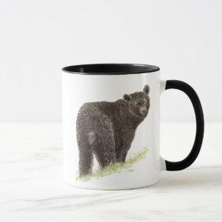Cute Black Bear,   Animal Nature, Wildlife Mug