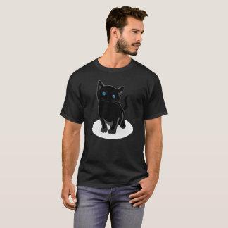 Cute Black Cat Shirt, Gift For Cat Lovers T-Shirt