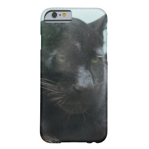 Cute Black Panter Cat Barely There iPhone 6 Case