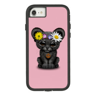 Cute Black Panther Cub Hippie Case-Mate Tough Extreme iPhone 8/7 Case
