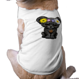 Cute Black Panther Cub Hippie Shirt