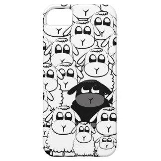 Cute black sheep iphone case