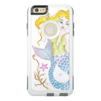Cute Blonde Mermaid OtterBox iPhone 6/6s Plus Case