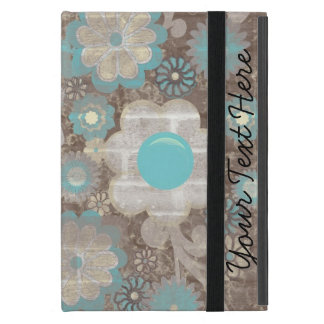 Cute Blue and White Floral iPad Mini Case