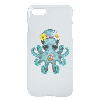 Cute Blue Baby Octopus Hippie iPhone 8/7 Case