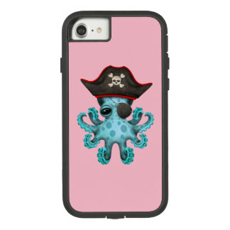 Cute Blue Baby Octopus Pirate Case-Mate Tough Extreme iPhone 8/7 Case