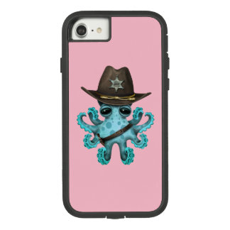 Cute Blue Baby Octopus Sheriff Case-Mate Tough Extreme iPhone 8/7 Case