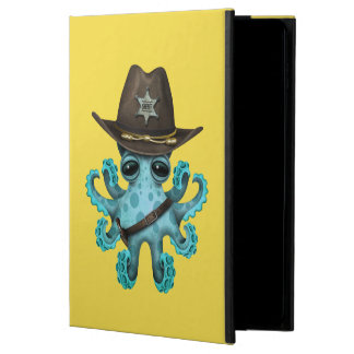 Cute Blue Baby Octopus Sheriff Powis iPad Air 2 Case