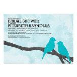 Cute Blue Bird Bridal Shower Invitations Custom Invites