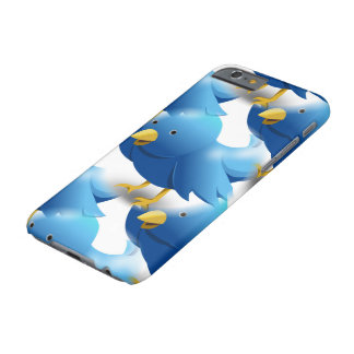 Cute Blue Birds Barely There iPhone 6 Case
