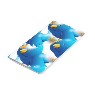 Cute Blue Birds Journal