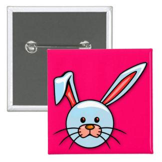 Cute Blue Cartoon Easter Bunny Pins