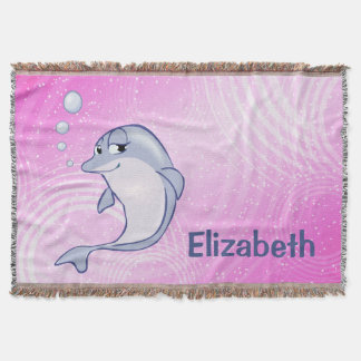 Cute Blue Dolphin To Personalize