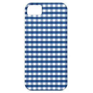 Cute Blue Gingham iPhone 5 Case