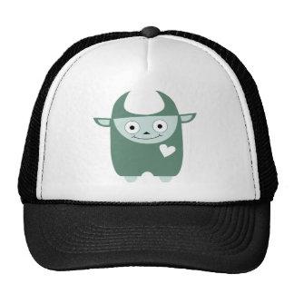 Cute Blue Monster Trucker Hat