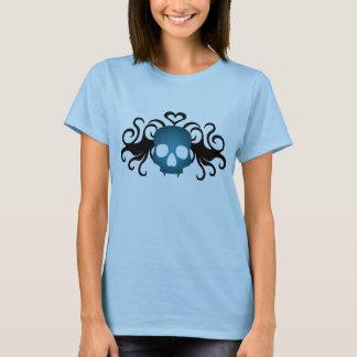 Cute blue vampire skull T-Shirt