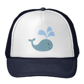 Cute Blue Whale Graphic Cap