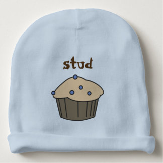 Cute Blueberry Muffin Baby Boy Blue Hat Baby Beanie