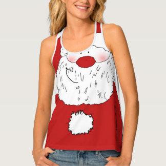 Cute Blushing Santa Singlet