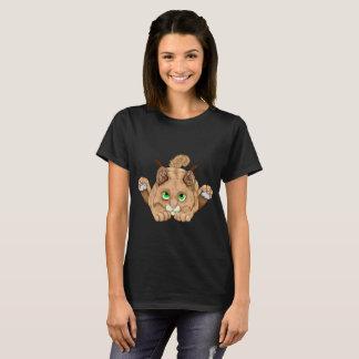 Cute Bobcat Kitten T-Shirt