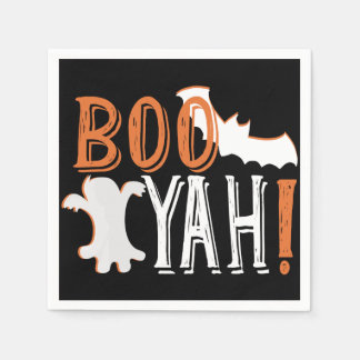 cute booyah halloween disposable serviettes