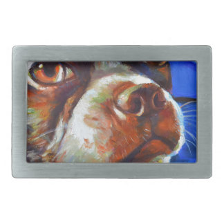 Cute Boston Terrier Belt Buckle