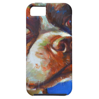 Cute Boston Terrier Case For The iPhone 5