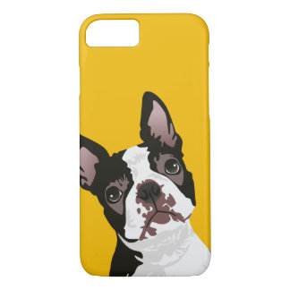 Cute Boston Terrier Dog for Boston Terrier Owner iPhone 8/7 Case