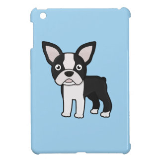 Cute Boston Terrier iPad Mini Covers