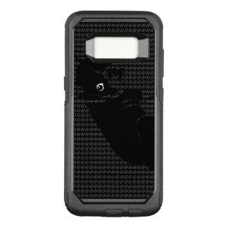 Cute Boston Terrier puppy OtterBox Commuter Samsung Galaxy S8 Case