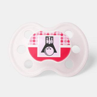 Cute Bowling Baby Pacifier