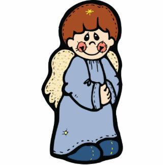 Cute Boy Angel Cut Out Pin