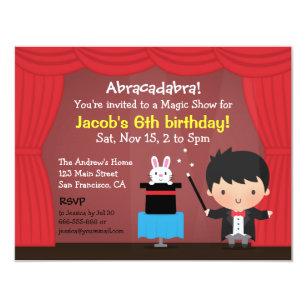 magic invitations announcements zazzle au