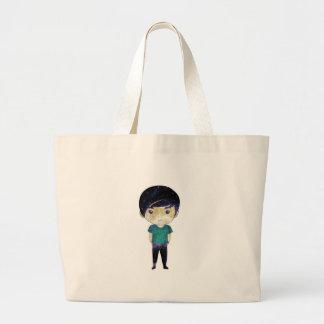 Cute Boy (Universe) Jumbo Tote Bag