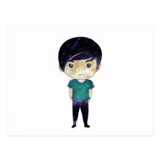 Cute Boy (Universe) Postcard