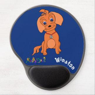 Cute Boy's Gel Mousepad - Happy