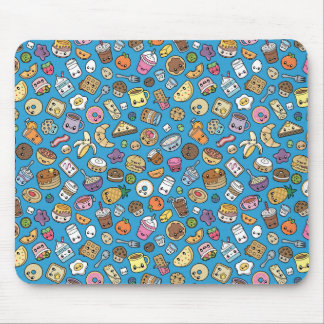 Cute Breakfast Food mousepad