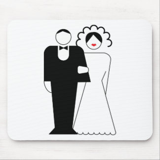 Cute bride to be mousepad