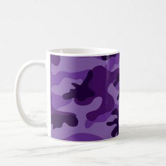 Cute Bright Purple Camo, Camouflage Coffee Mug