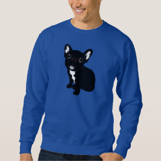 Cute Brindle Frenchie Puppy Sweatshirt