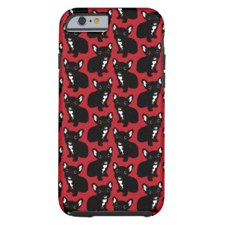 Cute Brindle Frenchie Puppy Tough iPhone 6 Case