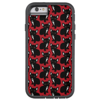 Cute Brindle Frenchie Puppy Tough Xtreme iPhone 6 Case