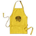 Cute Brown Elephant Aprons
