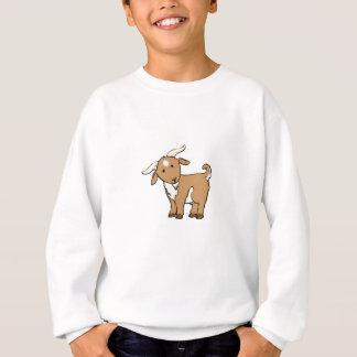 cute brown goat sweatshirt