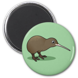 Cute Brown Kiwi from New Zealand Magnet
