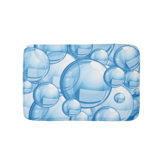 Cute Bubbles Design Bath Mat