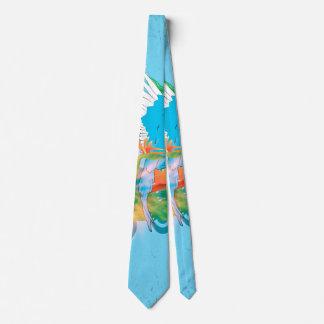 Cute budgie tie